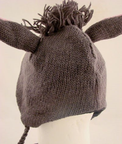 Knitting Pattern For Donkey Hat : WXICOF - Donkey & Mule Hats